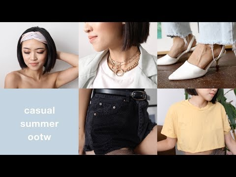 Casual Summer Outfits of the Week thumbnail