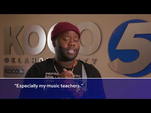 American Idol Star, Oklahoma Native Thaddeus Johnson Thanks Fans, Shows Support For Teachers
