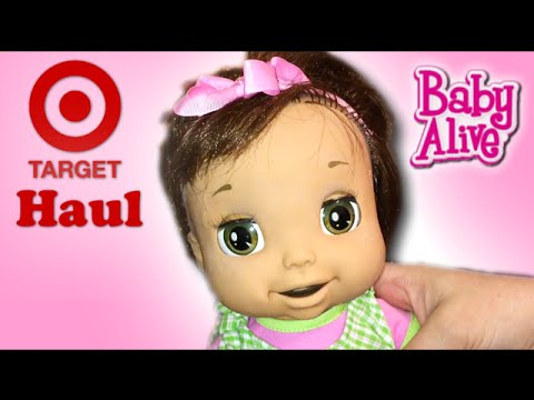 Target Haul With Boo And How To Fix Baby Alive Doll 2006