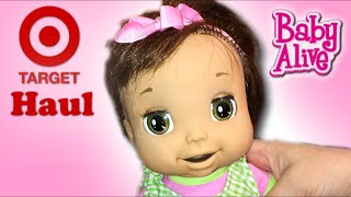 Target Haul with Boo and How to Fix Baby Alive Doll 2006 and 2009