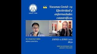 ENT DR. CÉSAR PAZ Y MIÑO MÉDICO GENETISTA. VACUNAS COVID-19 EFECTIVIDAD Y ENFERMEDADES CATASTRÓFICAS