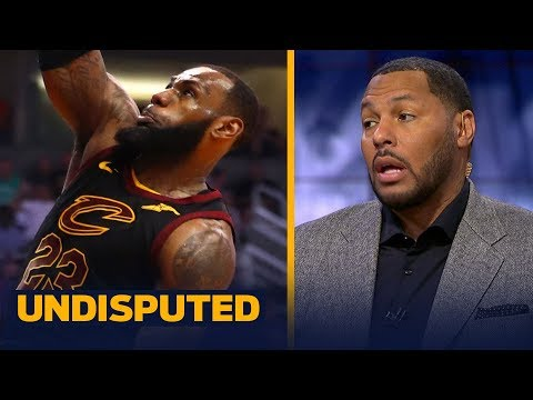 Eddie House reacts to LeBron James notching his 14th triple-double of the season | UNDISPUTED