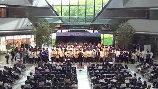 2018・4・22 TWIN21 アトリウム 講師 : 飯沼京子 秋のピエロ.