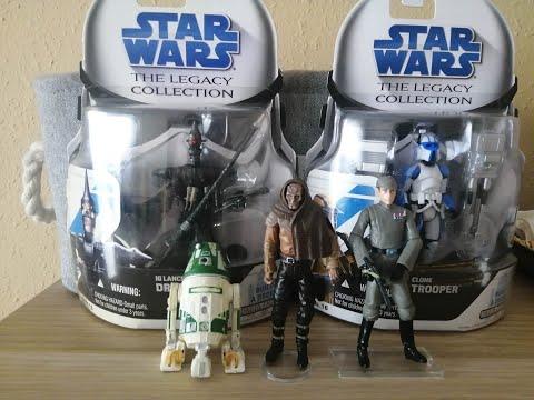 Heti videó: 04# Star Wars Legacy figurák 4.rész
