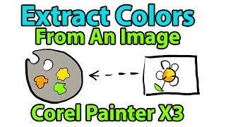 Corel Painter Tutorial - Extract Colors from a Photo(In this video, you will learn how to use Corel Painter to extract a color palette from a photograph while choosing the number of colors to sample. • Extract Color ..., 2013-10-29T10:32:20.000Z)