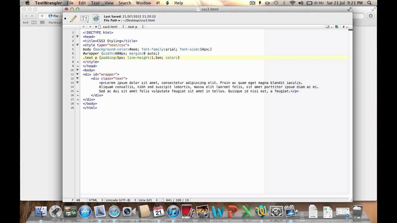 CSS3 Border Radius and Box Shadow style example - YouTube