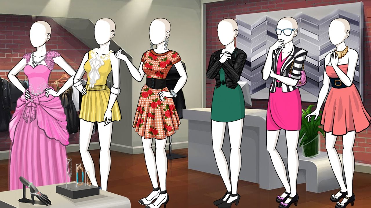 Episode - Mannequin Dressing Game Script Template - YouTube