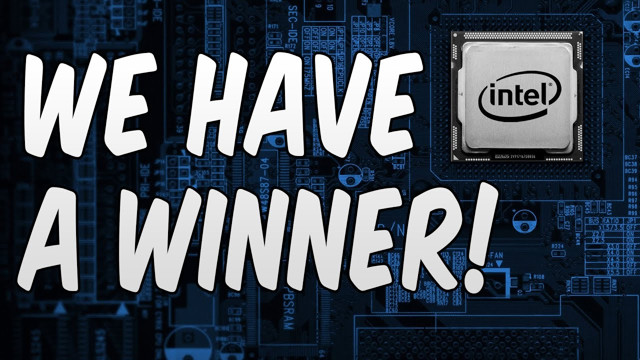intel gaming access giveaway we have a winner intel gaming pc giveaway youtube 2746