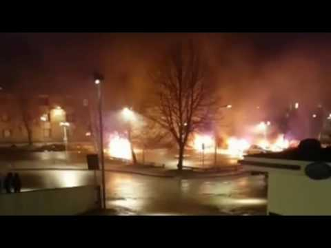 All Hell Breaks Loose In Sweden, Civil War Erupting In France As People Protest Corruption