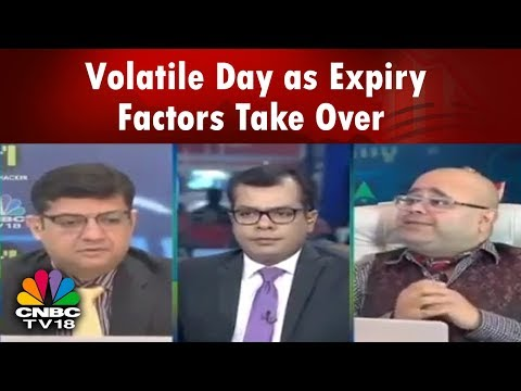 Closing Bell (28th March)   Volatile Day as Expiry Factors Take Over; Midcaps Weak; IT Stocks Lead