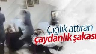 """2017 Çaydanlık  Şakası """"Anneanne Çıldırdı"""""""