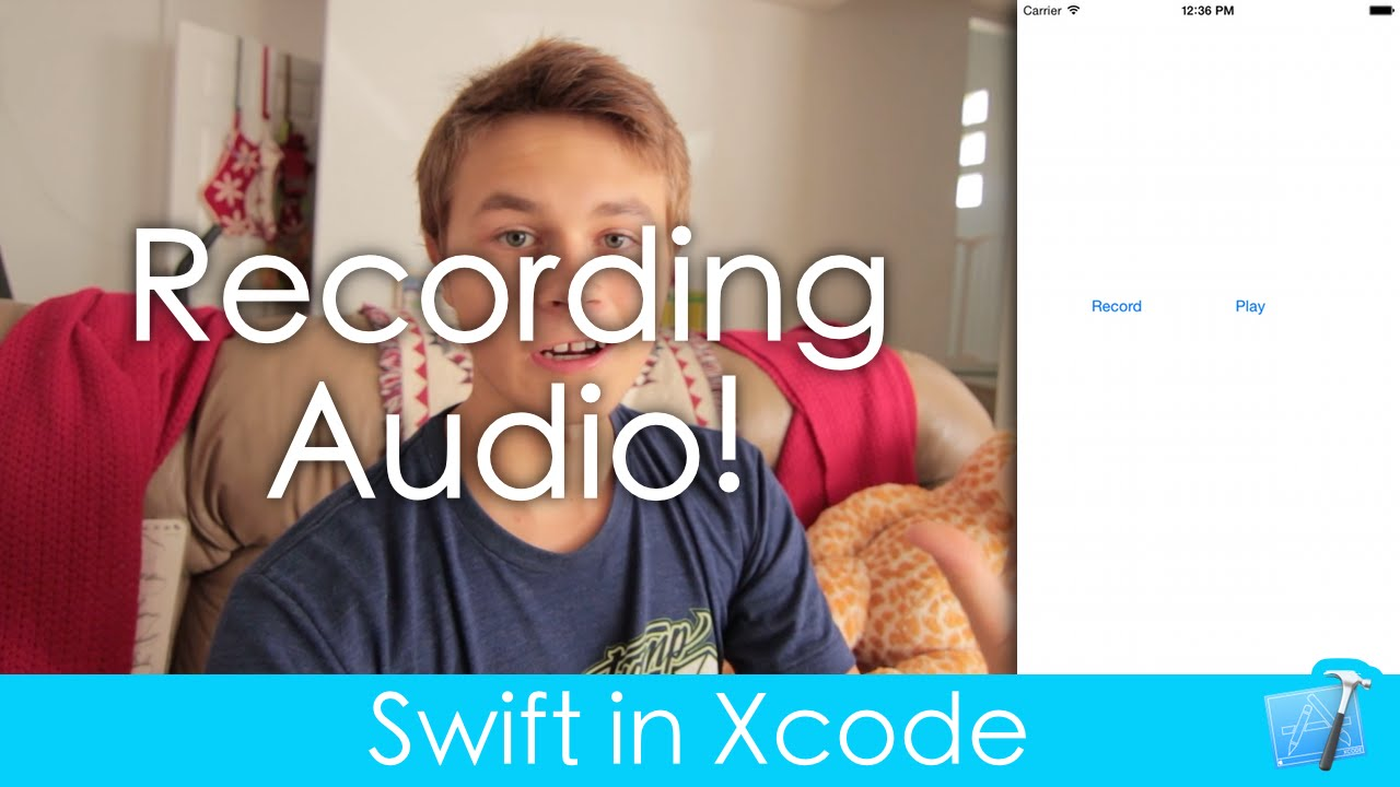 Recording Audio! (Swift in Xcode)