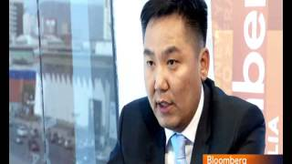 Battulga.N, CEO of ITZone LLC, interviewed at Bloomberg TV Mongolia