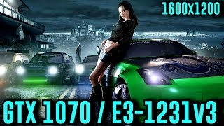 Need for Speed Underground 2: GTX 1070 OC | Ultra - 1600x1200 | FRAME-RATE TEST