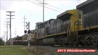 CSX K949; Brook Park, OH 8/31/13 (HD)