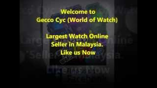 Casio G-Shock GD-100HC-4 Unboxing  [Gecco Cyc:Largest Watch Online Seller In Malaysia]