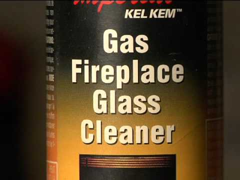 New & revised video on how to clean the glass on a Napoleon gas fireplace.