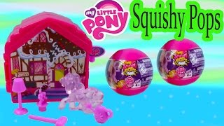 MLP Squishy Pops Mystery Surprise Blind Bag Balls Pinkie Pie Fold-N-Go Playset My Little Pony Review