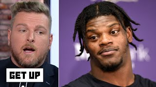 Pat McAfee: Lamar Jackson was a cheat code vs. the Patriots and defenses can't stop him | Get Up