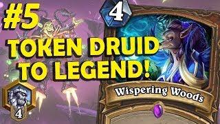 Token Druid climbing to Legend #5 (2 matches)