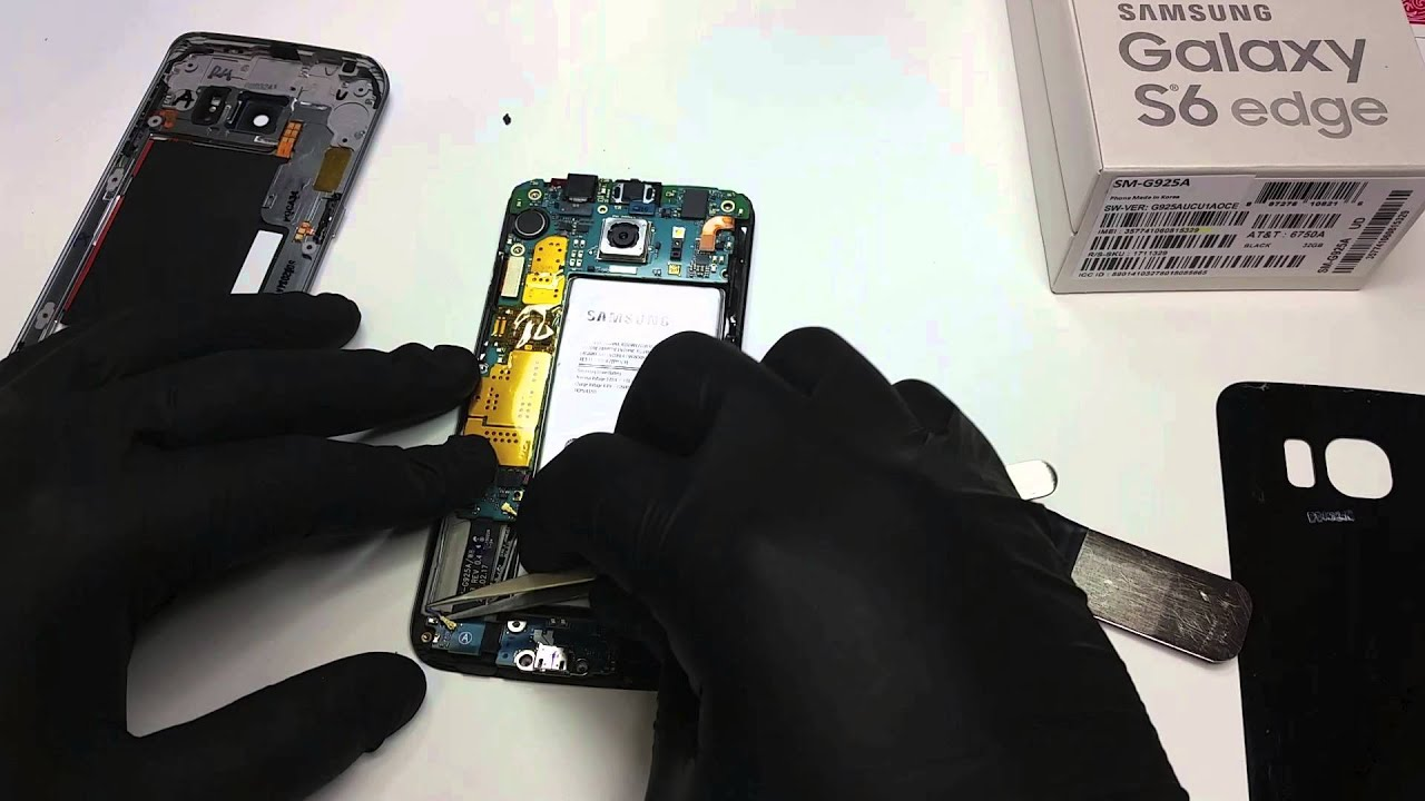 Galaxy S6 Edge Charging Port Repair Replacement Youtube Samsung S Circuit Diagram