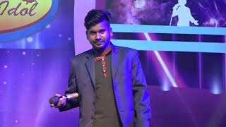 Gambar cover Nepal golden idol season7 (cover perfomence ) by Shrawan kumar  on Mega round || letest