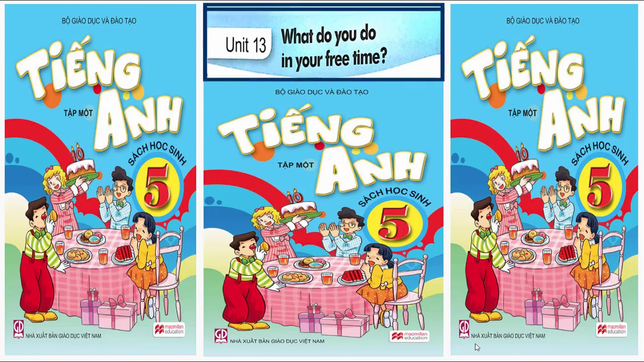 Tiếng Anh lớp 5 Unit 13 What do you do in your free time?