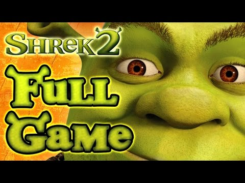 Shrek 2 Walkthrough FULL GAME Movie Longplay (PS2, Gamecube, XBOX)