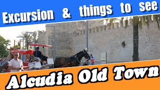 Alcudia Old Town in Mallorca