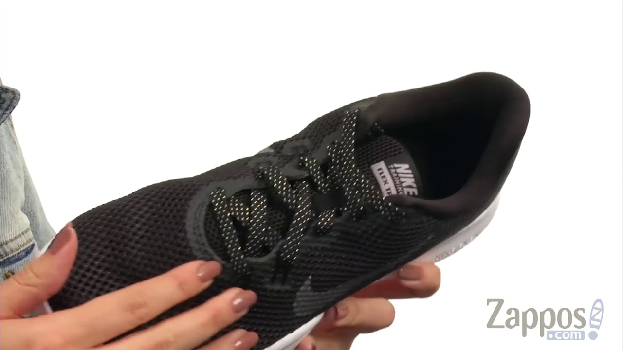 68321b38057f Nike Flex Trainer 7 Metallic SKU  8929988 - YouTube