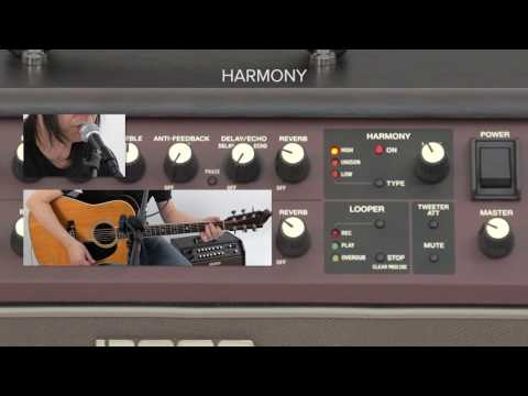 Acoustic Singer Quick Start chapter 6: Using Harmony