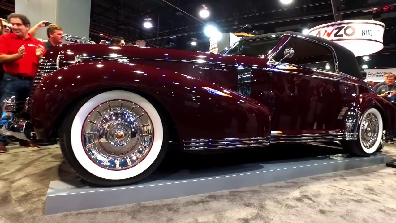 Basf Color Of The Year And Foose Cadillac Reveal At Sema 2016 Youtube 1951 Paint Colors