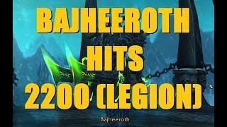 Bajheera - BAJHEEROTH HITS 2200: Epic Cross-Kill 3v3 Finish - WoW Legion 7.3 Frost DK PvP