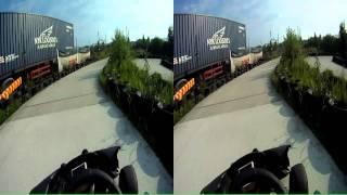go kart prague hostivar gokart circuit 2 GoPro HD 3D stereoskopic