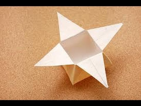 Origami Star Box Tutorial - YouTube - photo#25