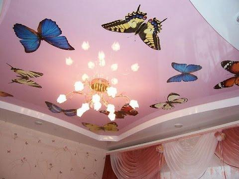 Гипсокартон или натяжной потолок что лучше