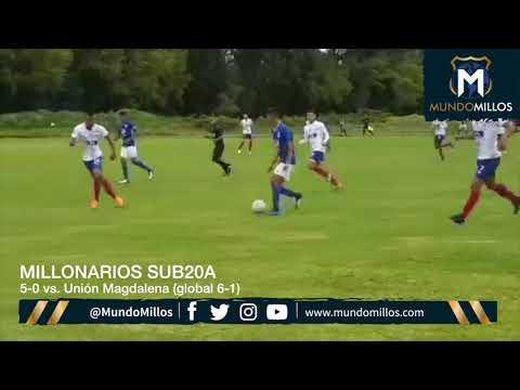 Los goles de Millonarios Sub20A