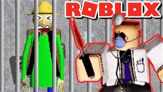 WHO FRAMED CAMPING BALDI TO BE SENT TO PRISON?! | The Weird Side of Roblox: Prison Break