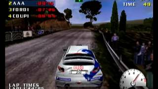 Test Drive V-Rally Dreamcast Intro + Gameplay