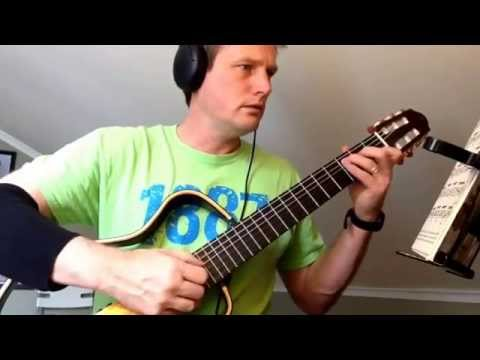 """Waltz"" Var. 2 - Ferdinand Carulli from Aaron Shearer's Classic Guitar Technique Vol. 1"