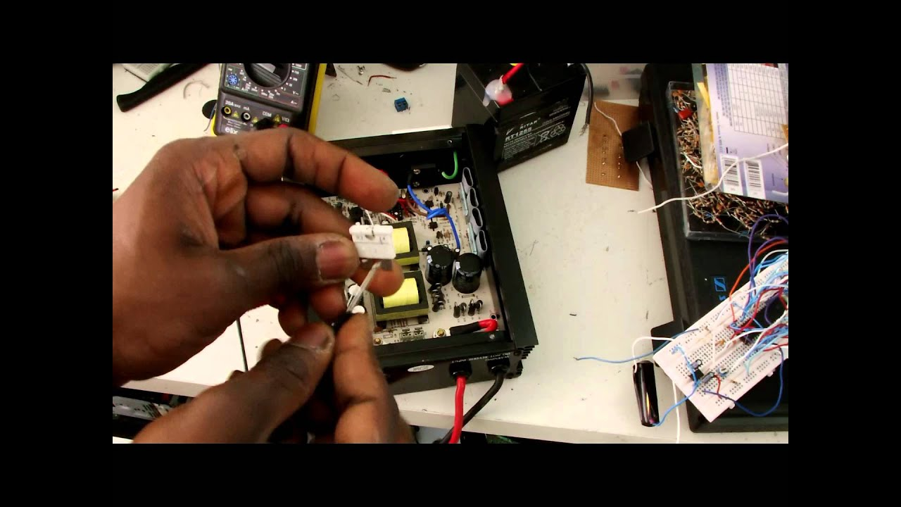 How To Change Inverters Fuse Youtube Inverter Welding Machines Diagram