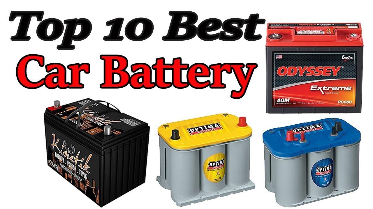 Best Car Battery >> Top 10 Best Car Battery Autozone Battery Reviews
