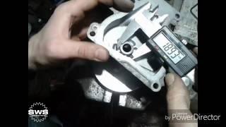 Разборка и диагностика актуатора сцепления Toyota Corolla, Auris