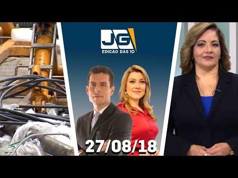 Jornal da Gazeta - Edição das 10 - 27/08/2018