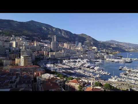 Monaco Yachts in Port Hercule