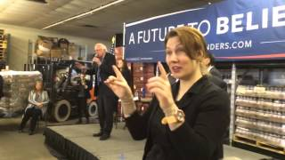 Bernie Sanders strong message to trump and hillary  in Mc dowell County west virginia part 2