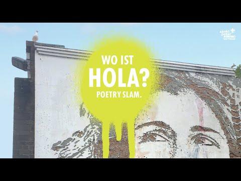 """Dalibor Marković moderiert """"Wo ist Hola?"""" - Frankfurts entspanntesten Poetry Slam. Dank der @home-Edition musst du nicht einmal das Haus, geschweige ..."""