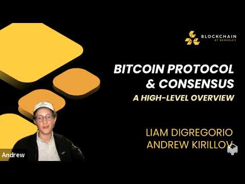 Lecture 1: Bitcoin Protocol & Consensus