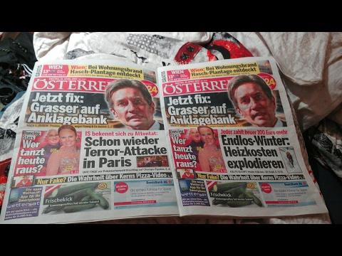 Gleiche Zeitung mit 2 verschiedenen Schlagzeilen?!