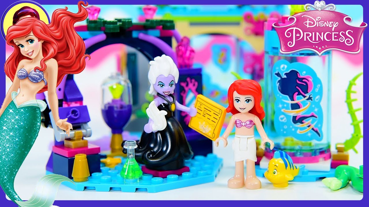 Disney Princess Ariel And The Magical Spell Lego Build Review Silly